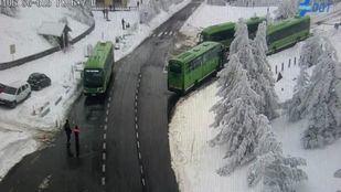 El Consorcio de Transportes ha habilitado autobuses extra para garantizar la vuelta de todos los visitantes a Madrid