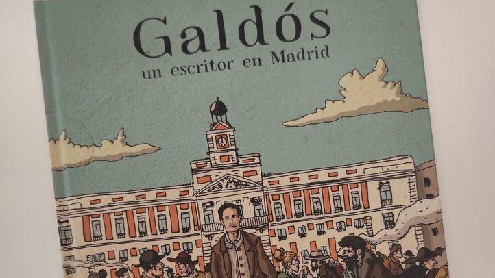 Novela gráfica 'Galdós, un escritor en Madrid'