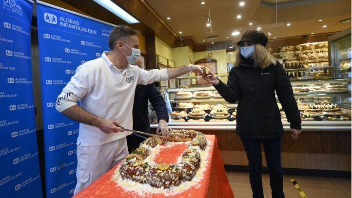 El Roscón de Reyes es destinado este año a familias vulnerables