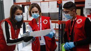 Cruz Roja asegura que el apoyo a la vacunación en Madrid es sin ánimo de lucro