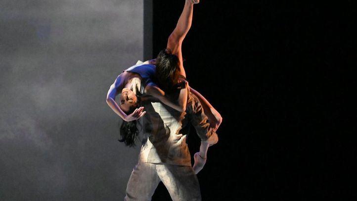 La bailarina Lucía Lacarra, en Teatros del Canal