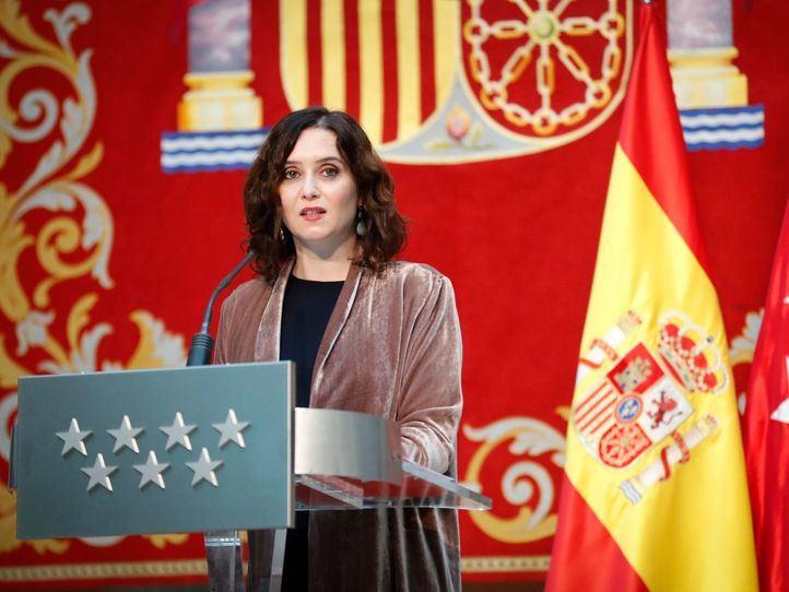 Ayuso anuncia que Madrid vacunará todos los días,
