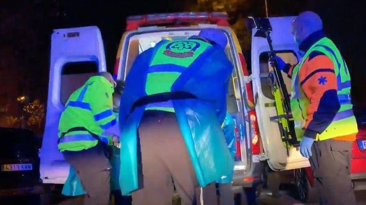 Herido grave tras recibir un disparo en el cuello en una calle de Usera