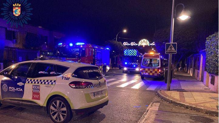 Intoxicadas dos personas por el humo de una chimenea obstruida en un chalé de Pinto