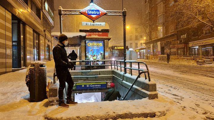 Renfe cancela sus trenes y la EMT no presta servicio