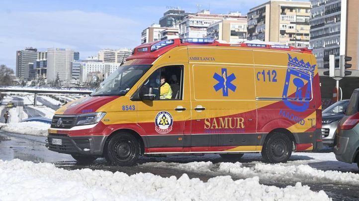 Samur atiende a 50 personas por caídas en la vía publica