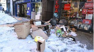 Más Madrid y PSOE, preocupados por la recogida de residuos