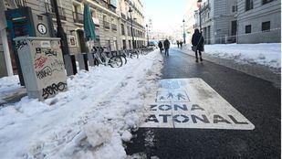 Madrid cuenta ya con 1.005 kilómetros despejados en 760 calles