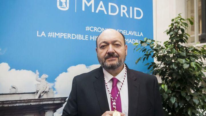 Constantino Mediavilla, galardonado con el Premio de la Asociación de Prensa de Madrid (APM) al Periodista Especializado en Madrid 2019.