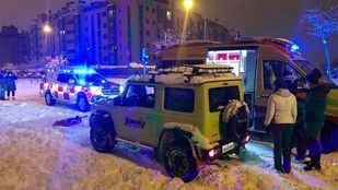 Uno de los vehículos todoterrenos de SOS 4x4