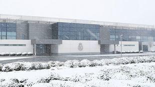 Suspendido el Real Madrid-Estrella Roja de la Euroliga de esta noche por la nieve en Barajas