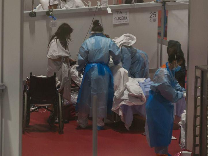 Repunte de contagios, fallecidos e ingresos diarios por Covid en Madrid
