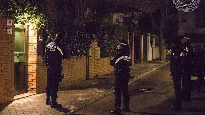 Detenidos dos jóvenes por desvalijar un chalé de Mirasierra