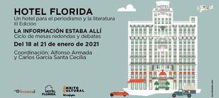 """El Corte Inglés organiza la III edición de """"Hotel Florida"""", un ciclo de análisis y homenaje al periodismo"""