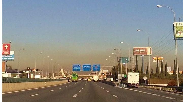 El anticiclón y la falta de viento aumentan la contaminación
