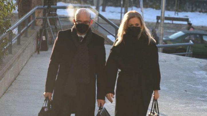 Llegada de Cristina Cifuentes a la Audiencia Provincial