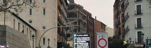 Explosión en la calle Toledo