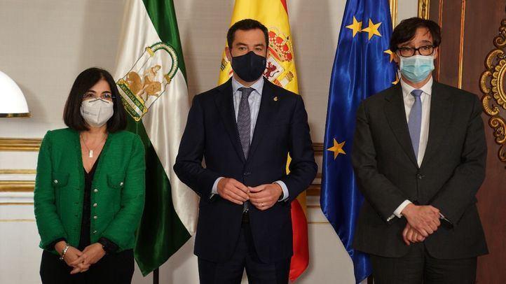 Reunión del Consejo Interterritorial del SNS en Sevilla