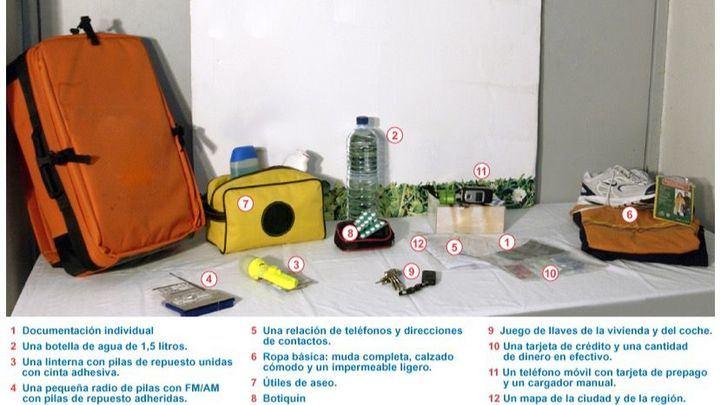 Prepare su mochila de emergencia: el Ayuntamiento de Madrid explica cómo sobrevivir a una tragedia