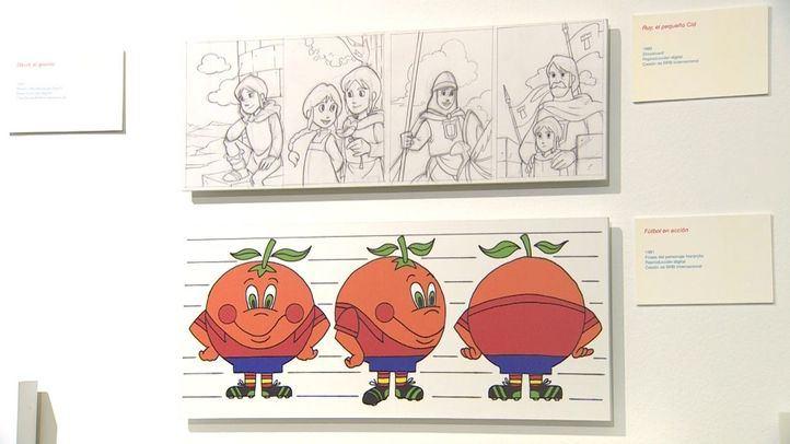La Imprenta Municipal acoge una muestra que incluye material inédito (bocetos, acetatos, dibujos, storyboard) y fotogramas originales de la animación hecha en España