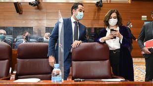 Díaz Ayuso y Aguado comparecerán para informar sobre los Presupuestos para 2021