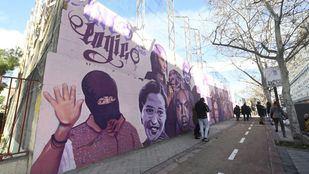 Un profesor de plástica quiere calcar el mural feminista de La Concepción en Córdoba