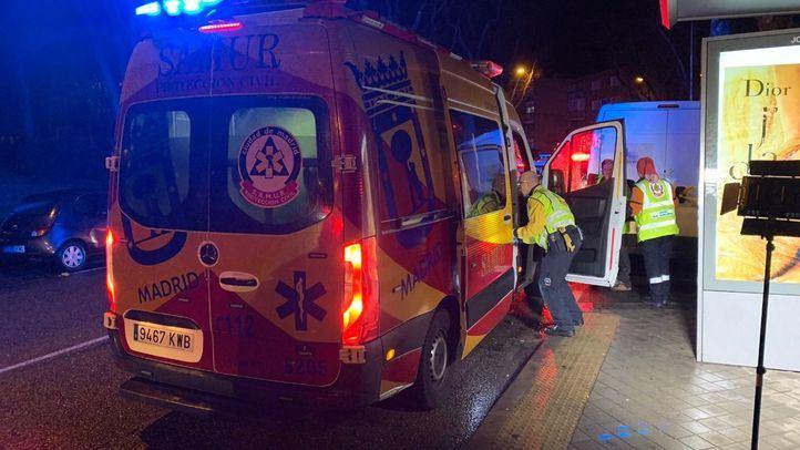 Imagen de archivo de una ambulancia del Samur-Protección Civil