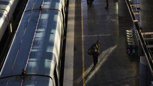 Línea C5 a su paso por la Estación de Alcorcón