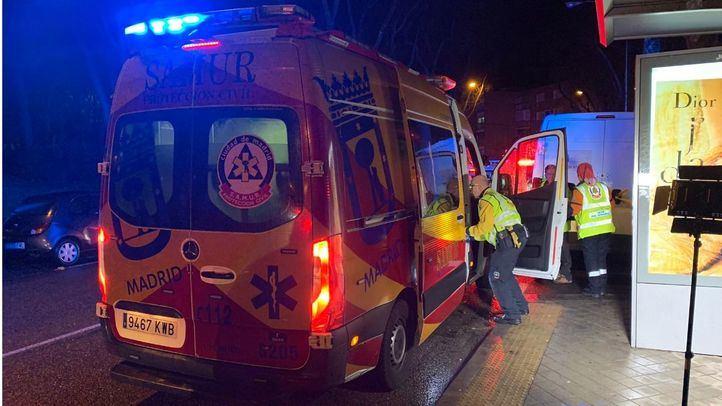 Herido grave un motorista en un choque frontal contra una furgoneta