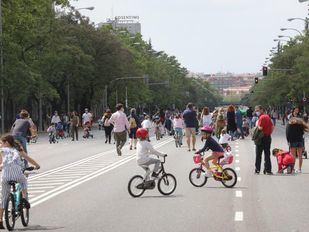 Peatonalización de calles para pasear