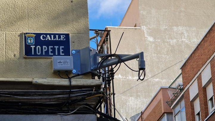 Concluye la instalación de cámaras en Tetuán y Vallecas: se activarán a finales de febrero
