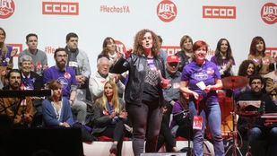 Paloma Vega se presenta a liderar CCOO Madrid abogando por la unidad sindical