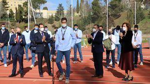 Aguado reconoce a los 'Hispanos' tras su broche de bronce en el Mundial de Egipto