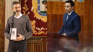 José Aniorte, delegado de Familia, Igualdad y Bienestar Social del Ayuntamiento de Madrid  y Javier Luengo Consejero de Políticas Sociales, Familias, Igualdad y Natalidad en Onda Madrid.