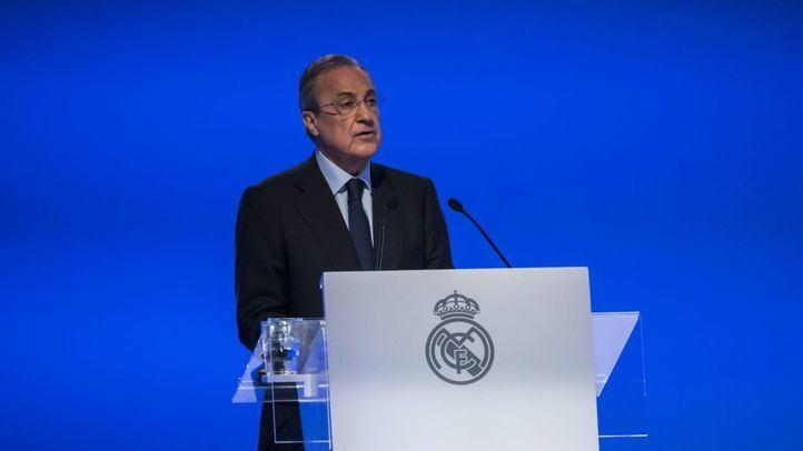 El Real Madrid comunica que Florentino Pérez es positivo en coronavirus
