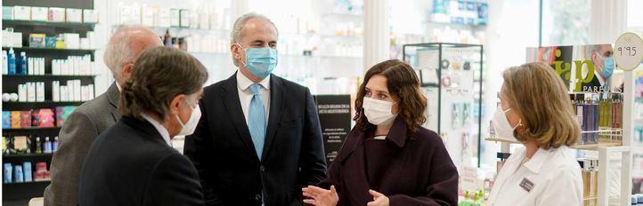 Madrid comienza a hacer test de antígenos en clínicas dentales y farmacias este jueves