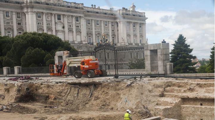 El Ayuntamiento y Patrimonio Histórico mejorarán los accesos al Palacio Real