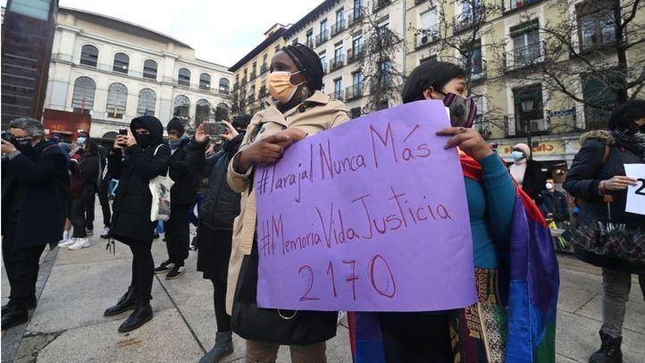 Un centenar de personas recuerda en Madrid a los 14 fallecidos del Tarajal en el séptimo aniversario