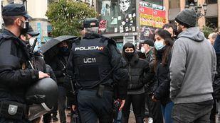 Agredido un cámara de Telemadrid en la manifestación de apoyo a Pablo Hasél