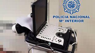 Arrestado el trabajador de un hospital por robar un ecógrafo y dos sondas