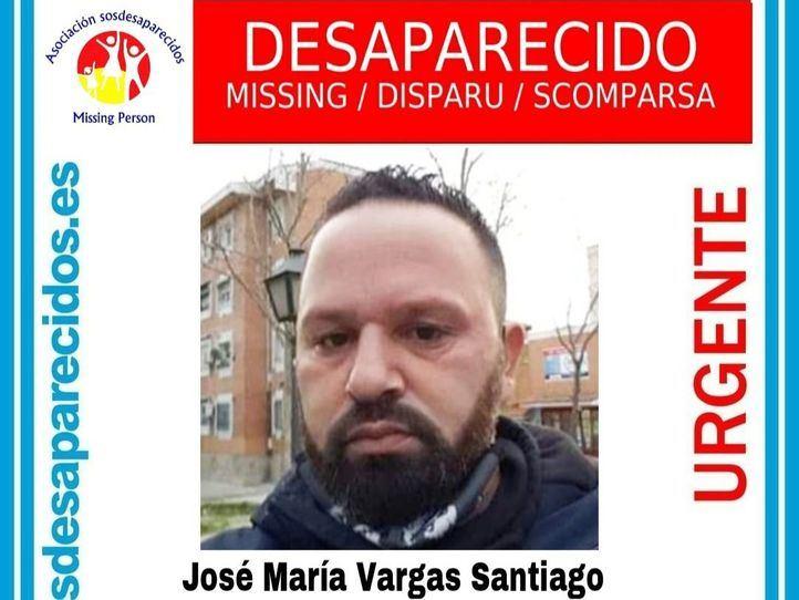 Buscan a un hombre de 41 años desaparecido hace 16 días en Madrid