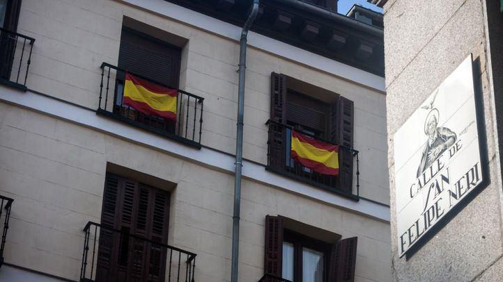 Madrid subvenciona con más de 12.000 euros un proyecto artístico para renovar las banderas de los balcones