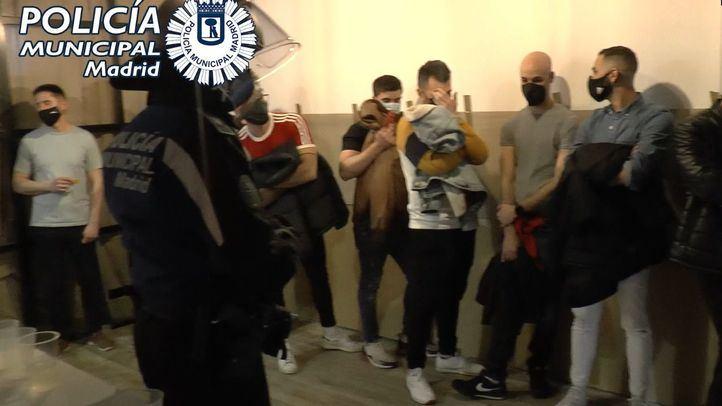 Policía Municipal de Madrid interviene en casi 400 fiestas ilegales desde el viernes