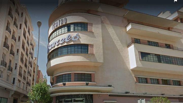 Las incidencias registradas en el Teatro Barceló comenzaron cuando cuatro personas se levantaron de sus mesas