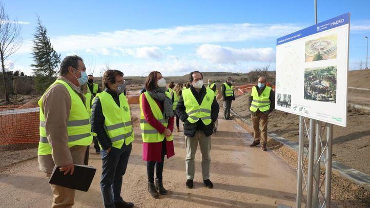 Almeida prevé que Vallecas estrene el nuevo parque de la Gavia a finales de año