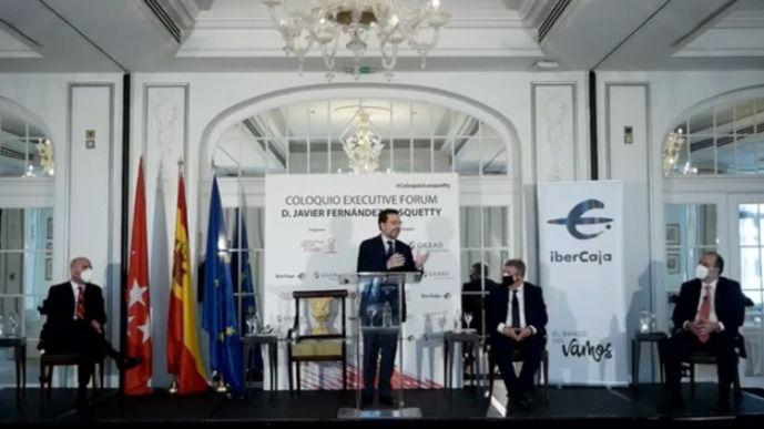 Fernández-Lasquetty en Executive Forum