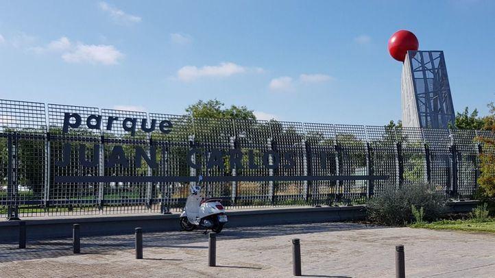 Reapertura parcial del parque Juan Carlos I tras el paso de Filomena