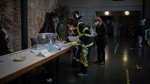 Caída importante de la participación en las elecciones catalanas