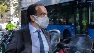 El delegado de Medio Ambiente y Movilidad, Borja Carabante.
