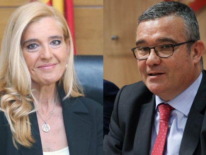 Mariola Vargas y Guillermo Hita, en los micrófonos de Onda Madrid
